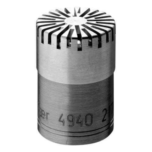 measurement microphone / prepolarized / free-field / 1/2