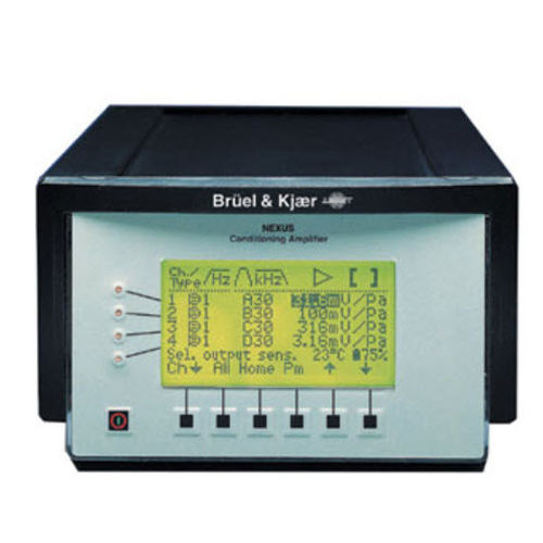 signal amplifier / conditioning / for vibration measurement / microphone