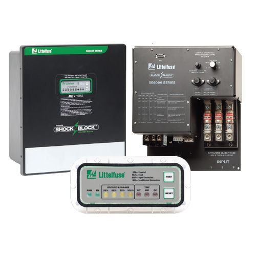 ground fault circuit breaker / voltage / for network protection