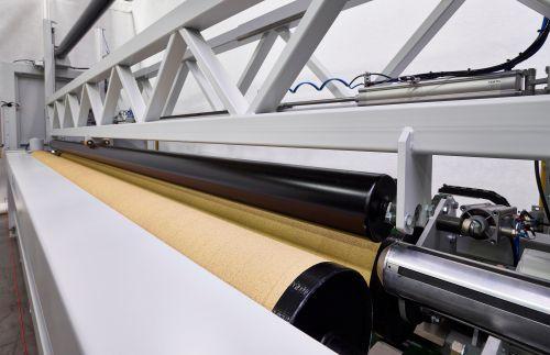 non-woven winder / fabric / paper / automatic