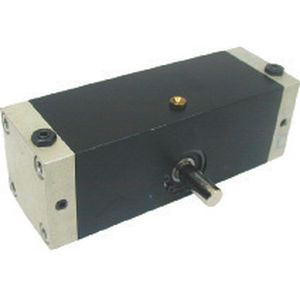 rotary actuator / hydraulic / double-acting / aluminum