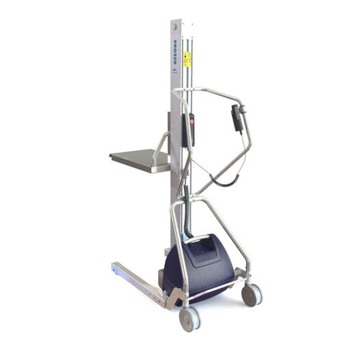 lifting device for the food and beverage industry / for food products / for the food industry / for tires