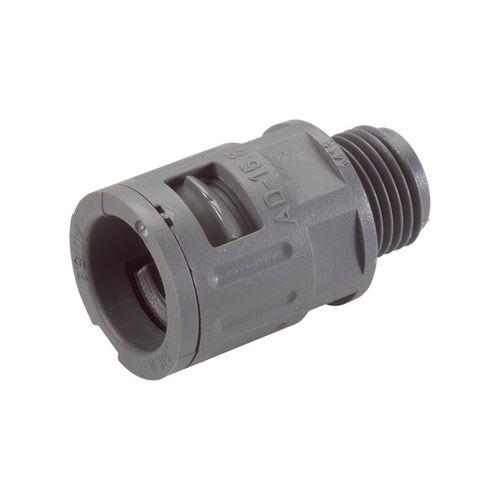screw-in fitting / straight / hydraulic / polyamide