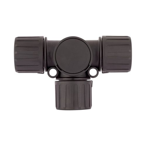 screw-in fitting / T / hydraulic / polyamide