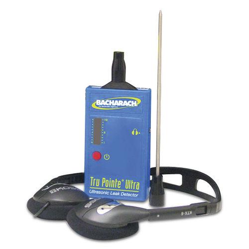Gas leak detector / ultrasonic / with LED indicator / compact -80db/V-µbar | Tru Pointe® Ultra Bacharach