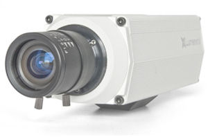 security camera / full-color / CMOS / Power-over-Ethernet