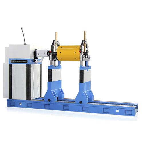 horizontal balancing machine / dynamic / for fans / for propeller shafts