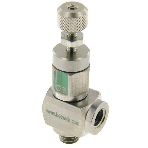 needle valve / manual / flow control / metering