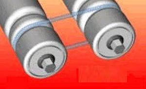 round transmission belt / polyester / elastic
