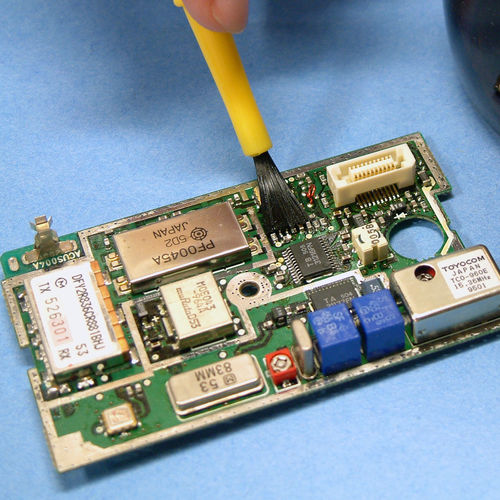 epoxy adhesive / single-component / dual-curing / industrial