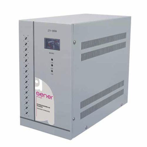 three-phase voltage stabilizer / single-phase / automatic