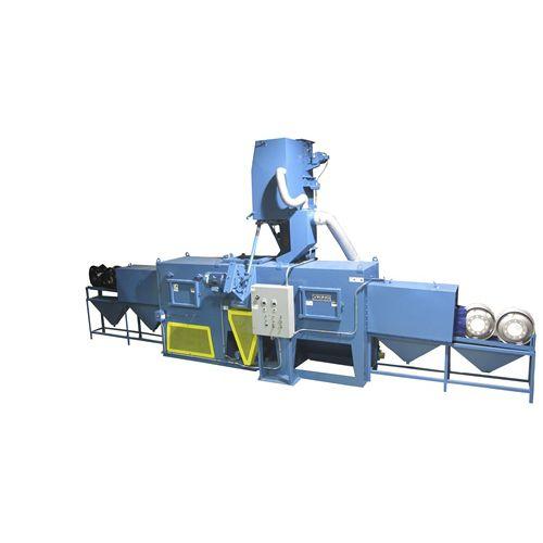 bulk material shot blasting machine / automatic / 2-wheel