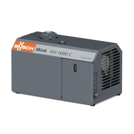 rotary claw vacuum pump / dry