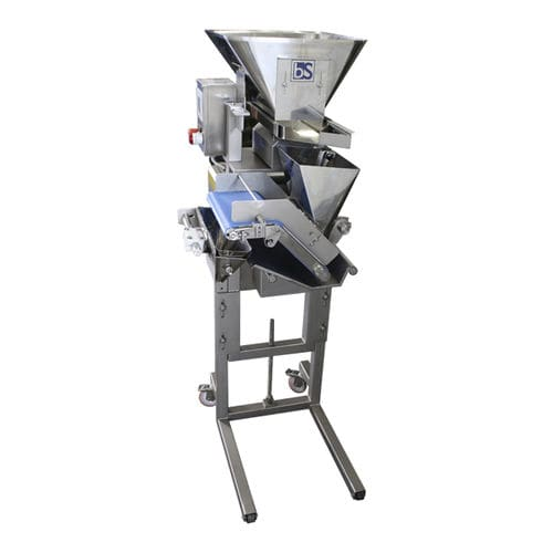 solids dispenser / belt / for the food industry / single-component