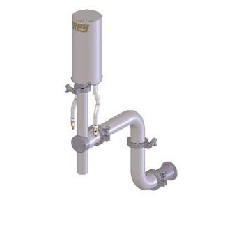 liquids dosing dispenser / for pasty products / piston / for the food industry
