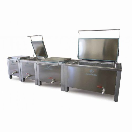poultry industrial cooker / for meat / steam / stainless steel