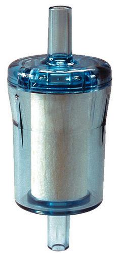 cartridge filter housing / for liquids / plastic