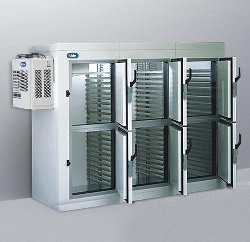 swing door / aluminum / industrial / for cold storage warehouses