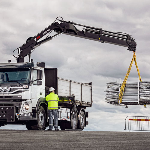 truck-mounted crane / boom / articulated / construction