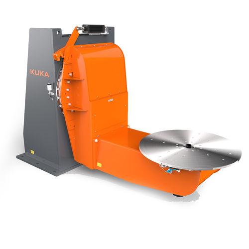 motorized welding positioner / vertical / 2-axis