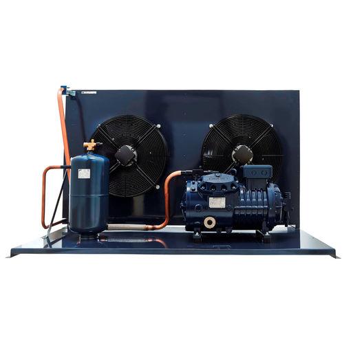 semi-hermetic condensing unit / air-cooled