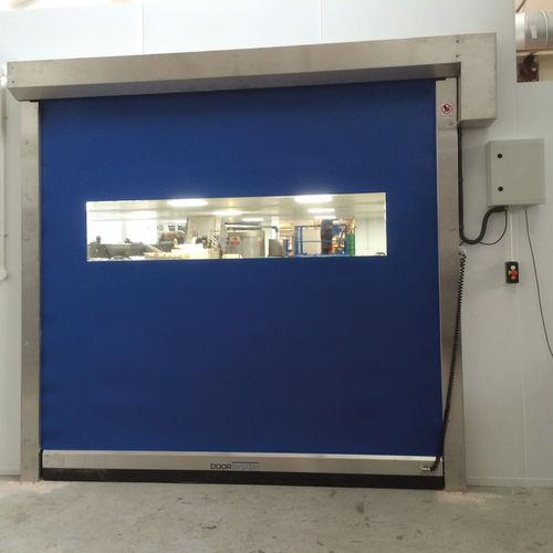 roll-up door / fabric / industrial / indoor