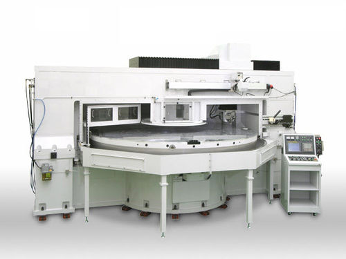 CNC turning machine / vertical / 3-axis / high-precision