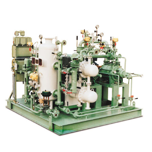 Air compressor / liquid ring / stationary / lubricated Flowserve SIHI Pumps