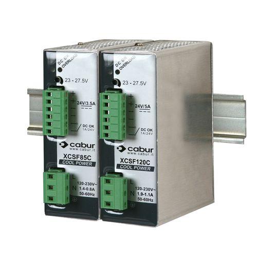 AC/DC power supply / single-output / DIN rail / modular