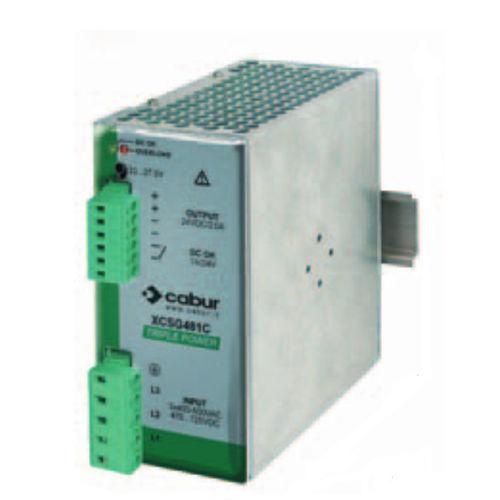 AC/DC power supply / DIN rail / three-phase