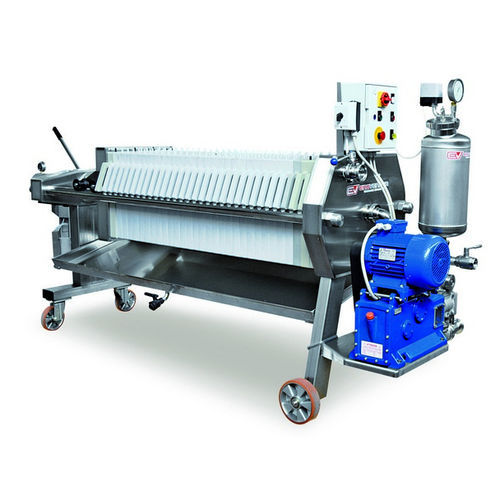 plate and frame filter press / manual / for wine