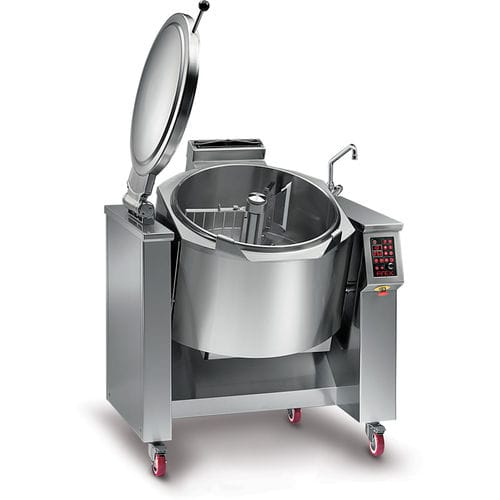 pasta industrial cooker / electric / gas / with mixer
