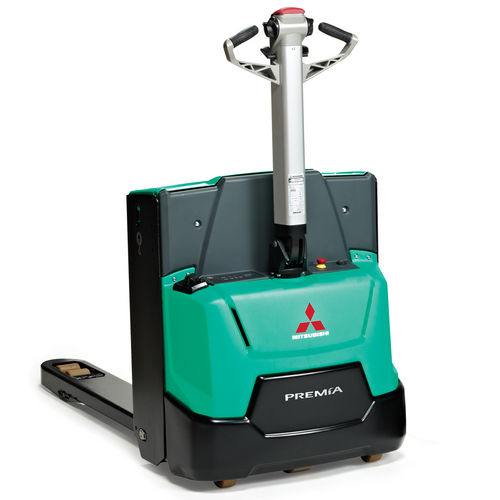 electric pallet truck / walk-behind / for warehouses / transport
