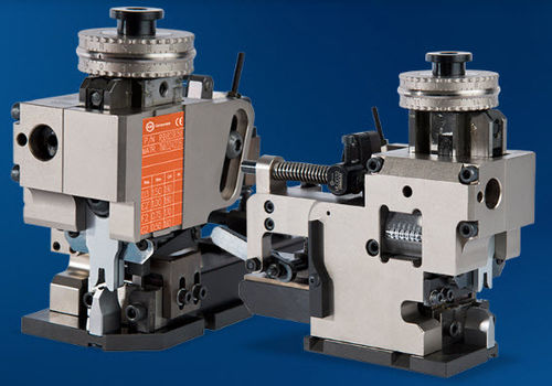 wire crimp applicator / manual / pneumatic / side feed