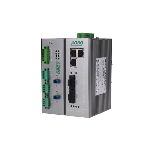 Managed ethernet switch / 5 ports / DIN rail / industrial AOBO 5005 series HANGZHOU AOBO TELECOM.,LTD.