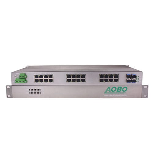 Managed network switch / 32 ports / layer 3 / ProfiNet AOBO G8332 series HANGZHOU AOBO TELECOM.,LTD.