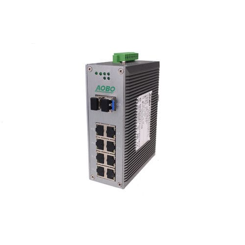 Unmanaged network switch / 12 ports / gigabit Ethernet / rack-mount AOBO 3012 series HANGZHOU AOBO TELECOM.,LTD.