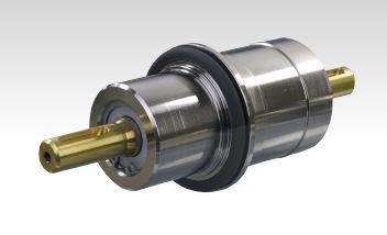 Rotary feedthrough / vacuum / flange / laboratory FRHxxx-H series INFICON