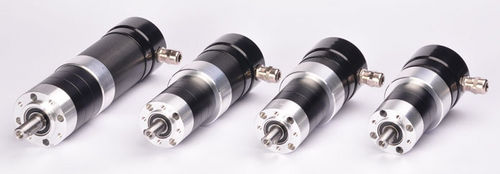 stepper electric gearmotor / DC / synchronous / coaxial