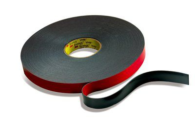 double-sided adhesive tape / acrylic foam / for electrical applications / foam