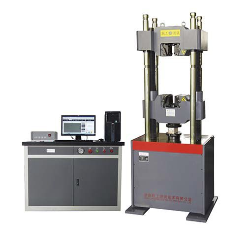Force testing machine / for building materials / digital