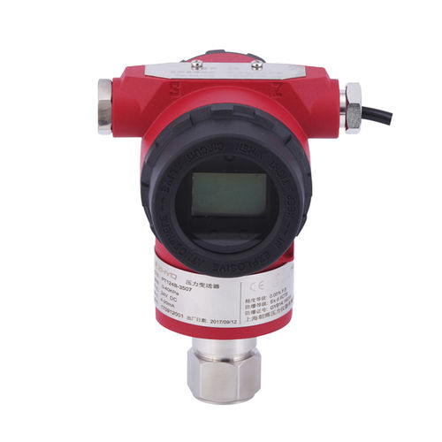 differential pressure transmitter / thermal / membrane / analog
