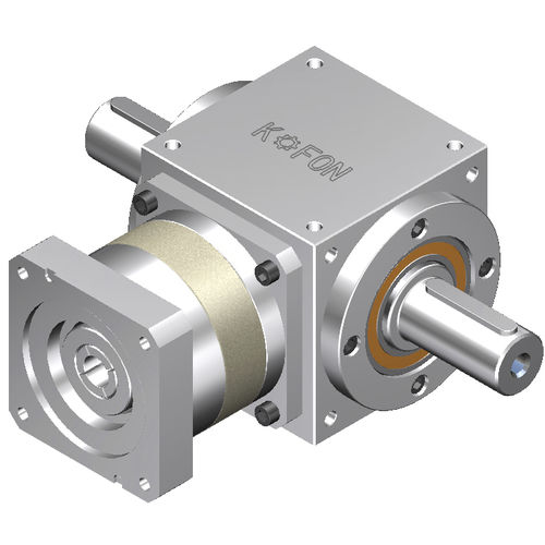 spiral bevel gear reducer / right-angle / high-precision / low-backlash