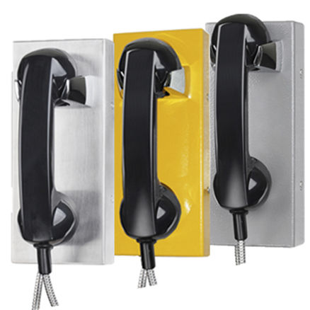 Vandal-proof telephone / weatherproof / IP65 / IP54 JR202-CB-VoIP J&R Technology Ltd
