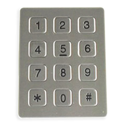Panel-mount keypad JR-KP-08 J&R Technology Ltd
