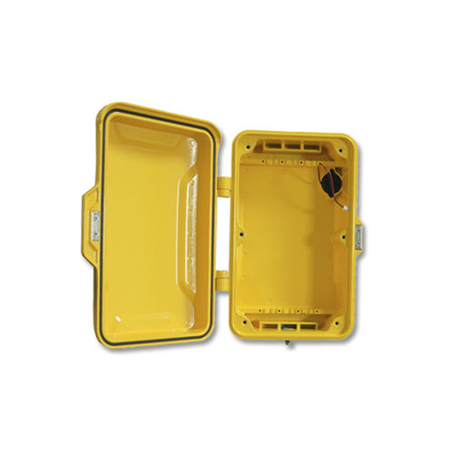 Wall-mount enclosure / rectangular / alloy / aluminum JR101-BOX J&R Technology Ltd