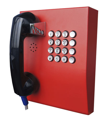 Weatherproof telephone / vandal-proof / IP65 / standard JR207-FK-OW J&R Technology Ltd