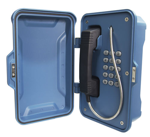 Weatherproof telephone / IP67 / VoIP / IP JR101-FK-B J&R Technology Ltd