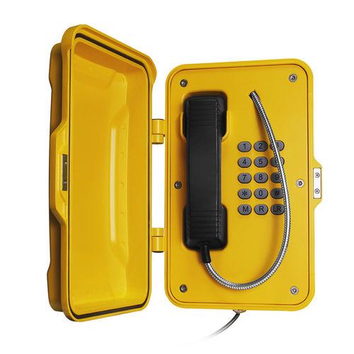 Weatherproof telephone / IP67 / vandal-proof / analog JR101-FK-Y J&R Technology Ltd