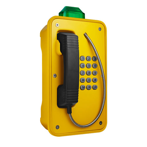 Waterproof telephone / VoIP / for harsh environment / for tunnels JR103-FK-B-SIP J&R Technology Ltd